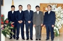 جشن دریافت گواهینامه ایزو ۹۰۰۱-۲۰۰۰ (۴)
